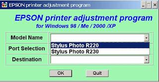Software Resetter Printer Epson Stylus Photo R230x