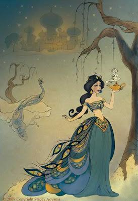 The art of Disney princesses [Disney Editions - 2009] Art+disney+princess+StaceyAoyamaJasmineweb