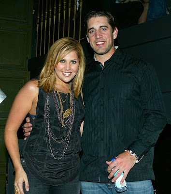 Aaron Rodgers and Hillary Scott
