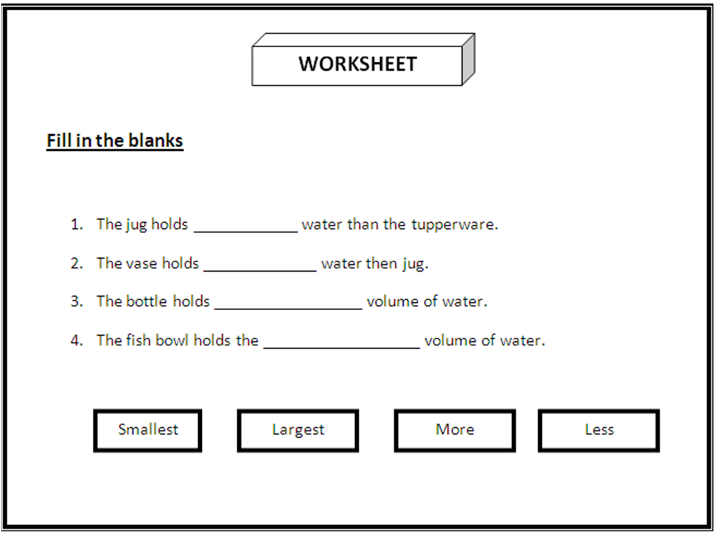 10. Pupils answer the worksheet provide by teacher,