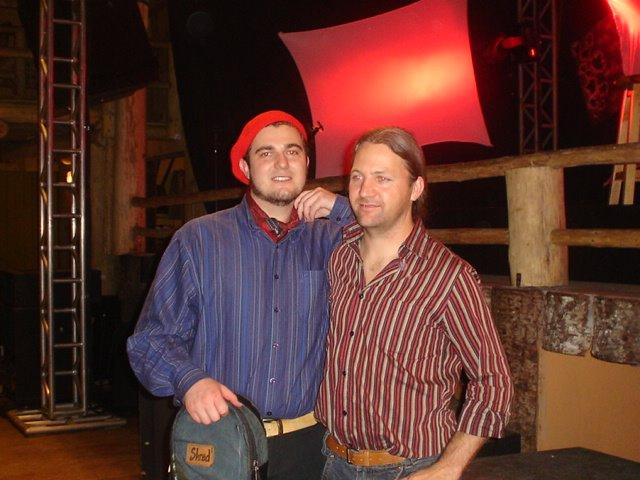 Mauro Adada e o amigo Rafael