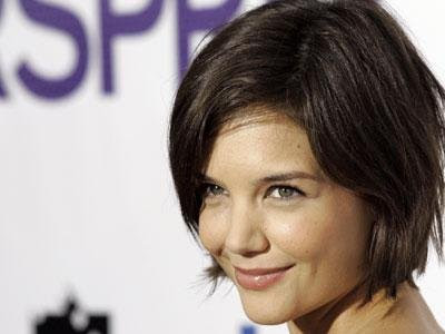:KATIE HOLMES STRAIGHT SHORT HAIRSTYLE | Katie Holmes Hairstyles