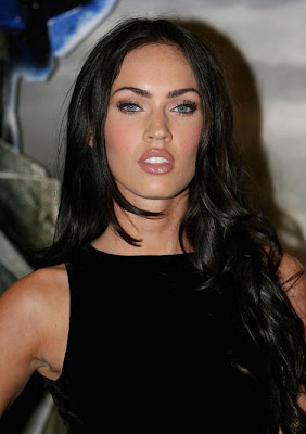 Hairstyles With Long Bangs of Megan Fox