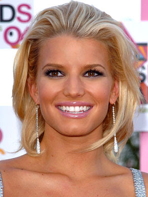 Celebrity Hairstyle-Jessica Simpson ,