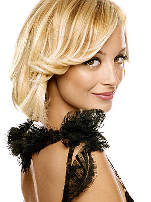 nicole richie long straight hair