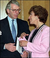 John Major & Edwina Curry