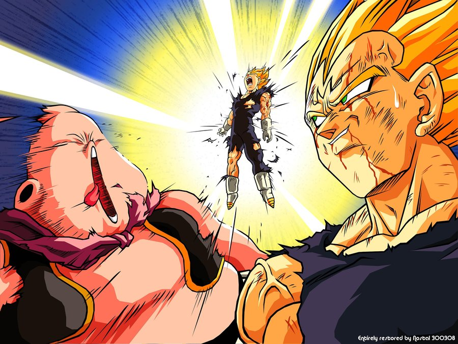 Mem ria saiyajin novembro 2010 - Dragon ball z majin vegeta wallpaper ...