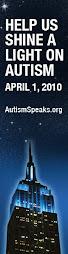 Una luz azul por el autismo