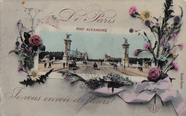 I Send You These Flowers - Paris 1908
