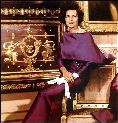 Lilian Baels Jacqueline Kennedy on Letter Q Queen