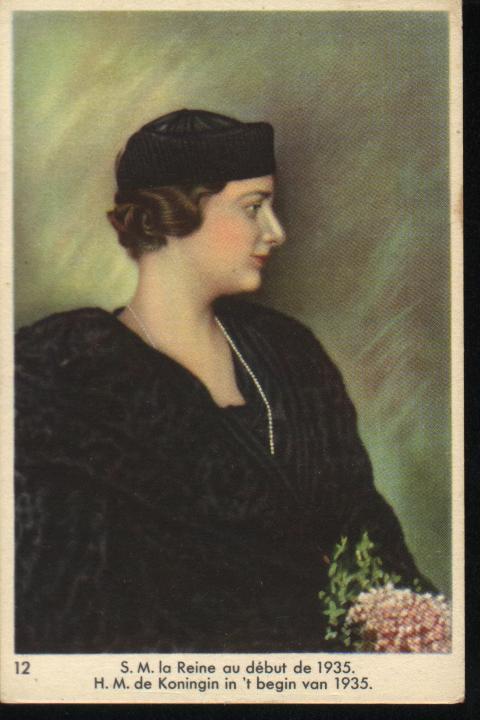 King Leopold III (1901-1983), Queen Astrid (1905-1935) and Princess Lilian (1916-2002) Afbeelding+059