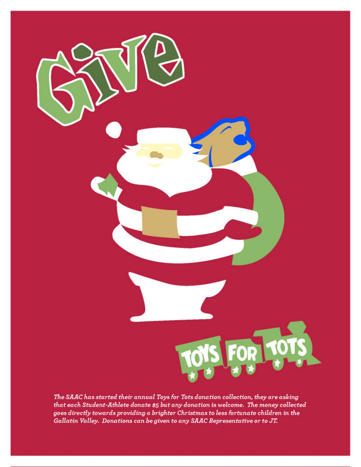 Toys 4 Tots Posters : Msu athletic academic center toys for tots donations