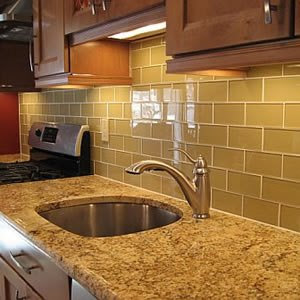 backsplash picture ideas supreme glass tiles 3 x 6 subway