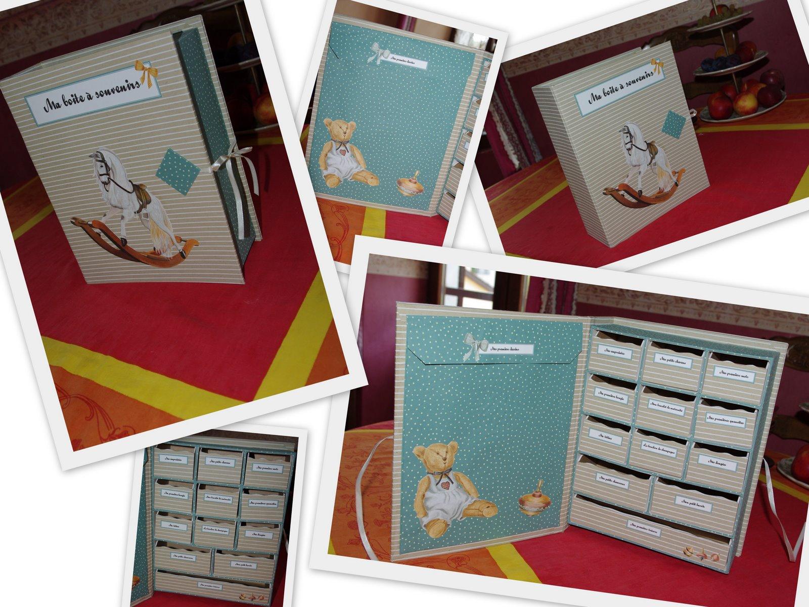 Notre petit monde tutoriel de la boite souvenir naissance - Fabriquer une chaussure en carton ...