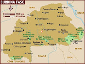 Burkina Faso Map
