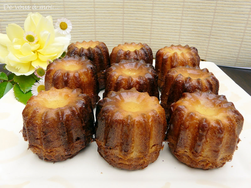Canneles De Bordeaux Recipes — Dishmaps