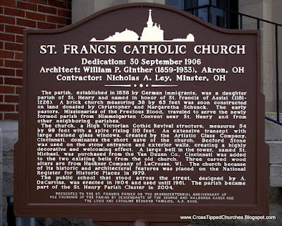 Church Historical Marker with church history.