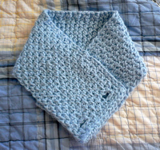 Free Crochet Pattern - Tunisian Scarflet from the Tunisian