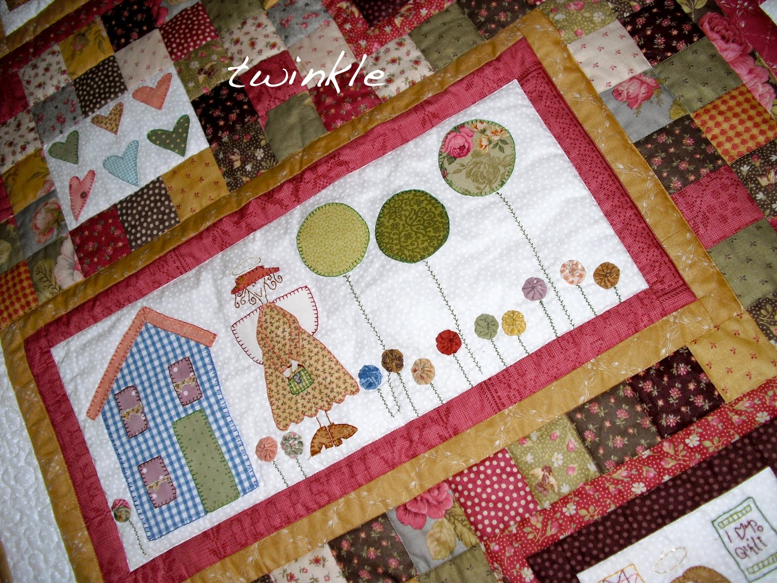Dise os colchas patchwork imagui - Disenos patchwork para colchas ...