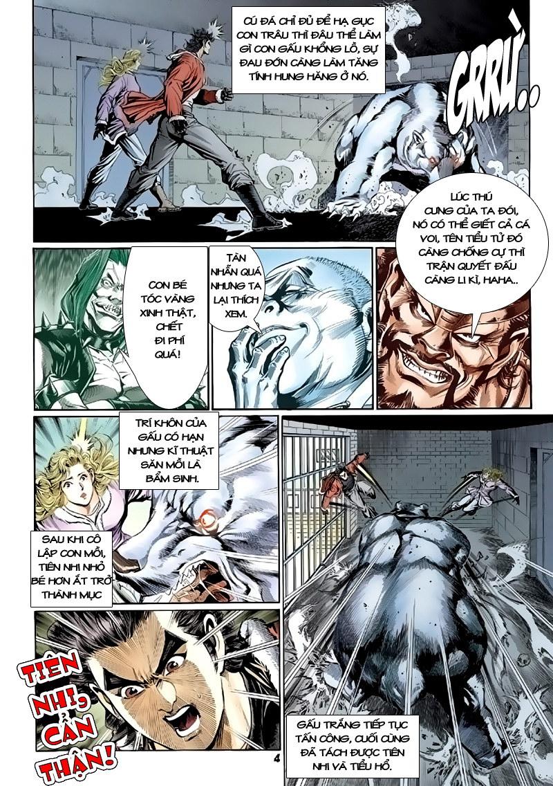 Tân Tác Long Hổ Môn chap 117 - Trang 4
