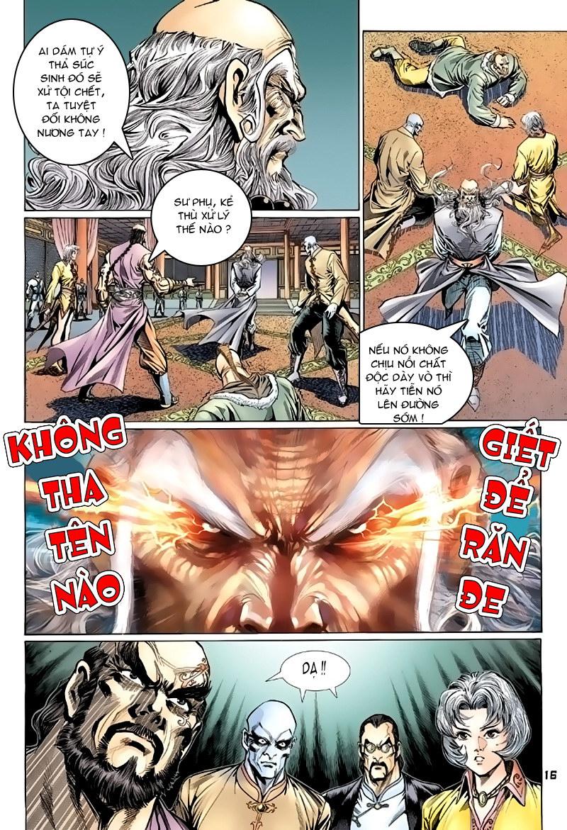 Tân Tác Long Hổ Môn chap 117 - Trang 16