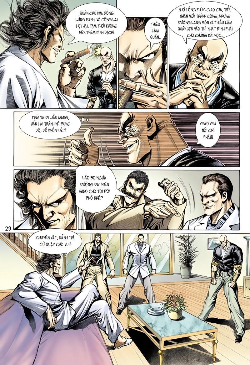 Tân Tác Long Hổ Môn chap 127 - Trang 29