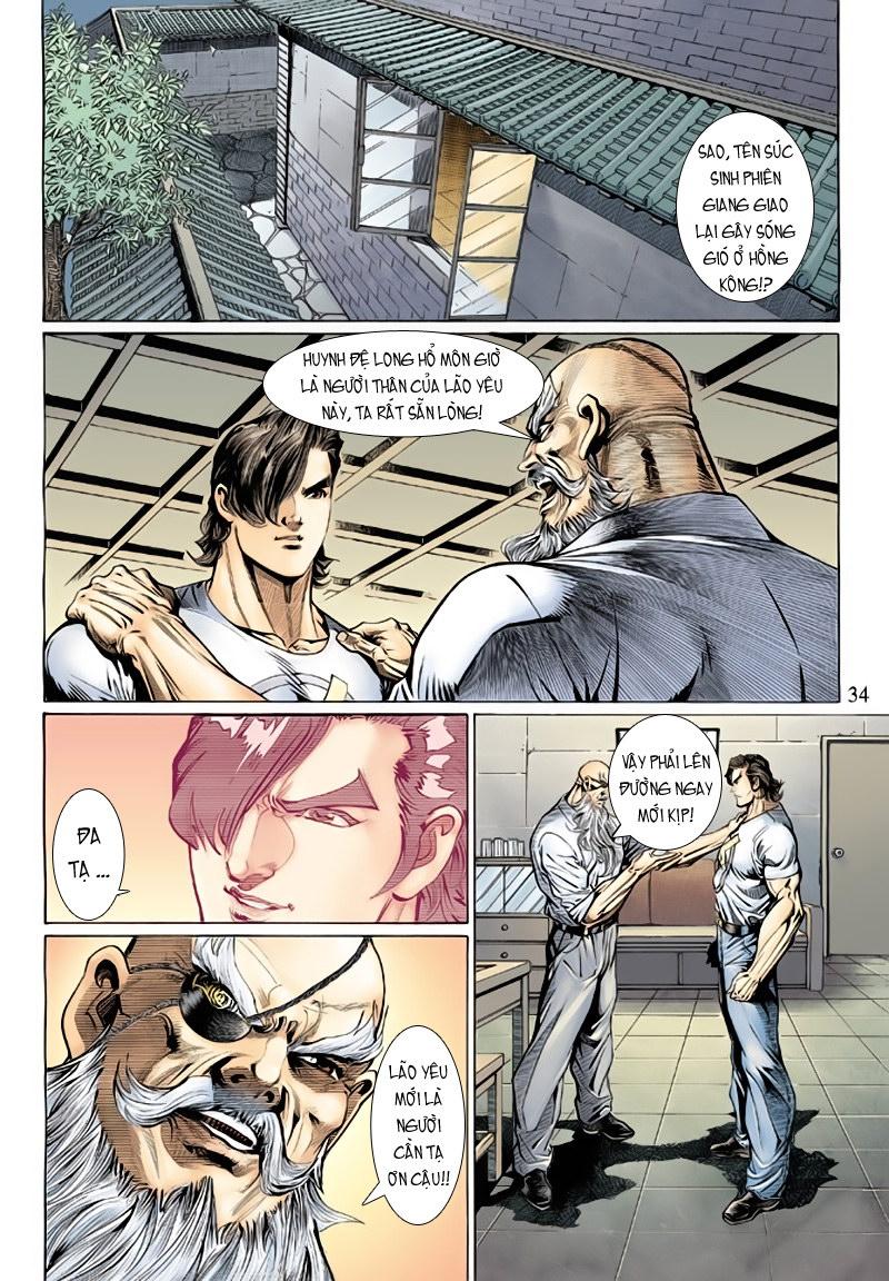 Tân Tác Long Hổ Môn chap 127 - Trang 34