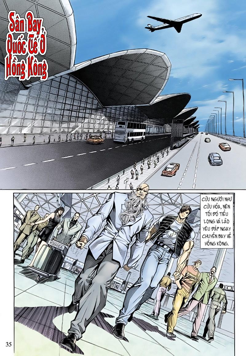 Tân Tác Long Hổ Môn chap 127 - Trang 35
