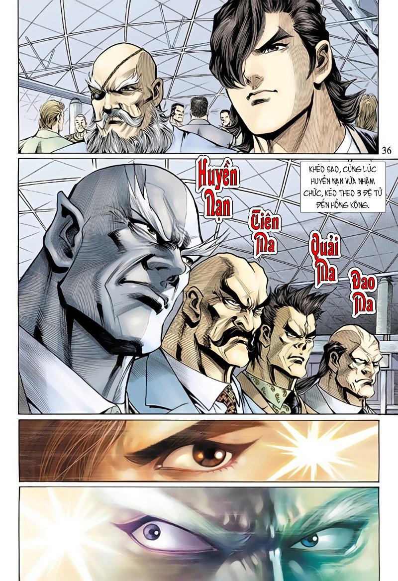 Tân Tác Long Hổ Môn chap 127 - Trang 36