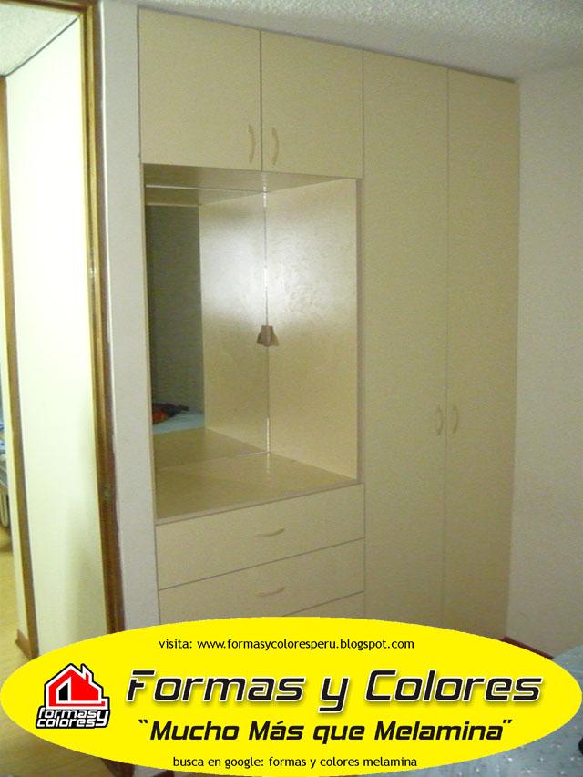 Closets y Reposteros de Cocina en Melamina