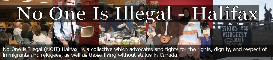 No One is Illegal - Halifax