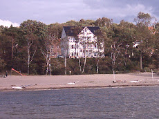 Haus Seeblick vom Strand gesehen