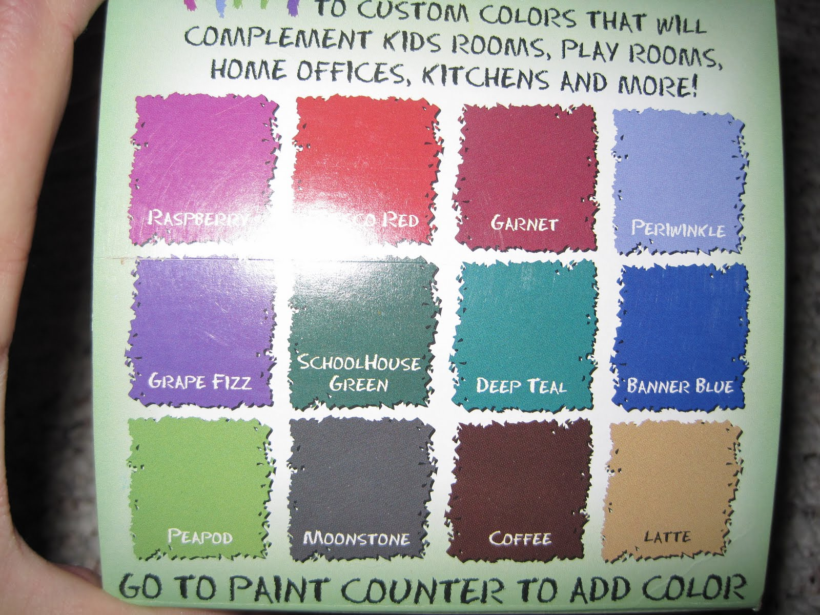 Bedroom Colors Home Depot chalkboard paint colors home depot - laura williams