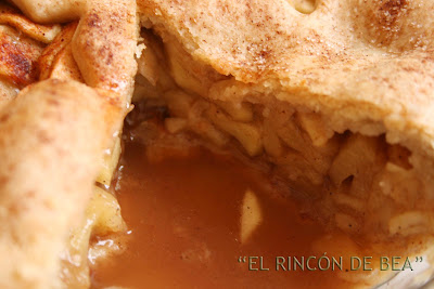 ALL-AMERICAN APPLE PIE (PASTEL DE MANZANA AMERICANO)