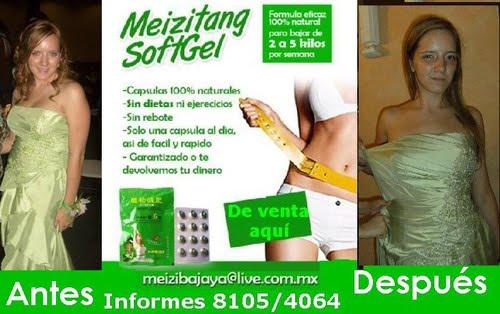 Meizitang efectos secundarios