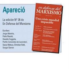 En defensa del Marxismo Nº 35