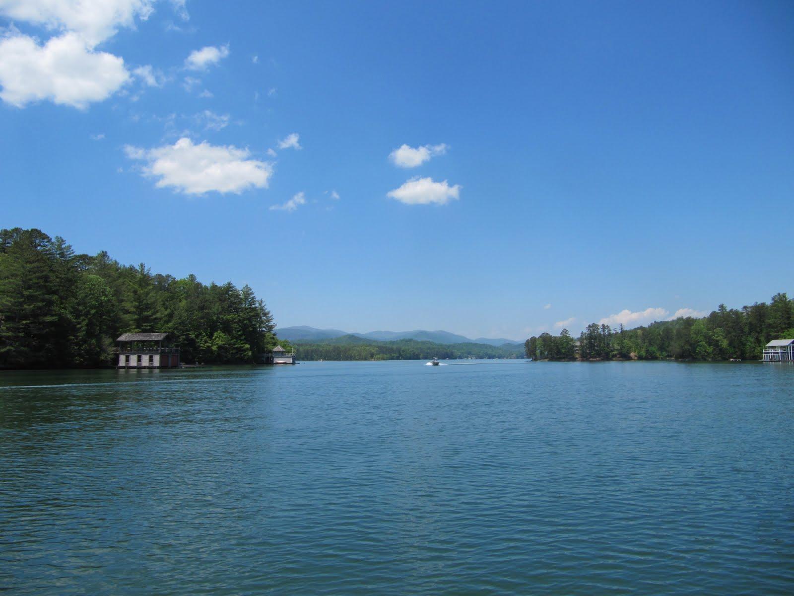 Return To Clayton Ga 2012 A Pontoon Boat Trip On Lake