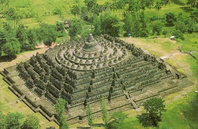 Borobudur in java, Indonesia