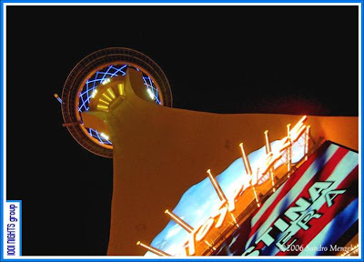 Stratosphere at Night