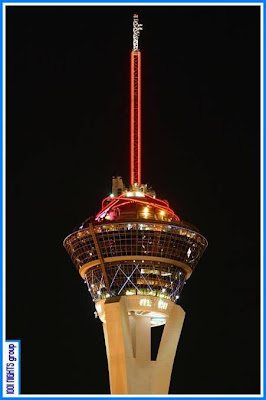 Stratosphere at Night - Closer View