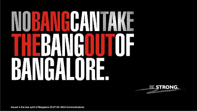 No Bang Can Take The Bang Out of BANGALORE.