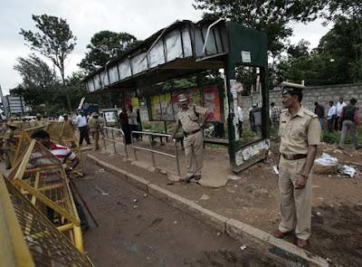 Bomb Blast Near Madivala Bus Stand