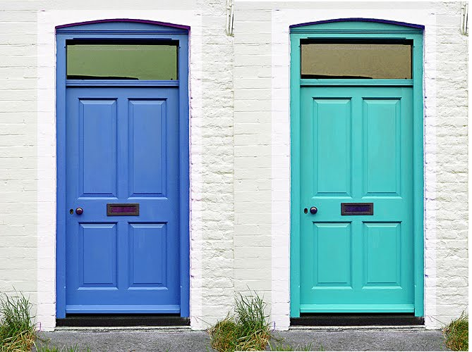 They\u0027re probably fun \u0026 quirky bold life of the party fabulous\u2026check these doors out. & Carribean Pop Doors | Maureen Stevens