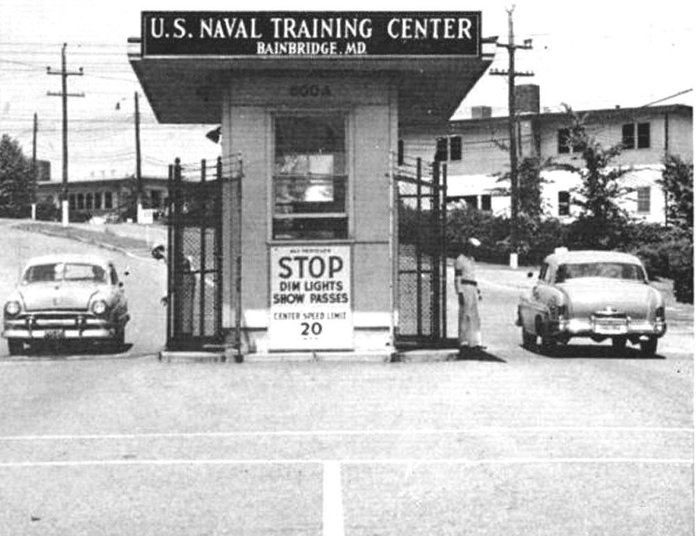 U S Naval Training Center Bainbridge Md Usntc Bainbridge