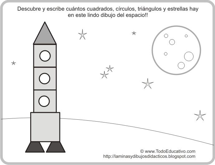 Láminas y Dibujos Didácticos gratis con dibujos para colorear y ...