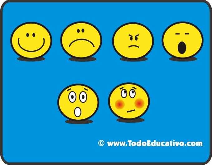 Caritas con emociones para colorear - Imagui