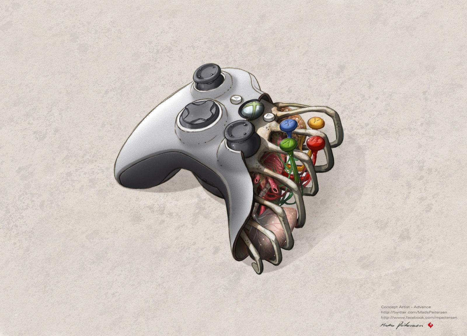 Daily Wallpaper Sick ass Xbox 360 controller Wallpaper