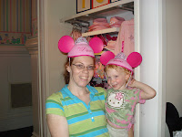 R and I, no we did not buy the princess mouse ears.