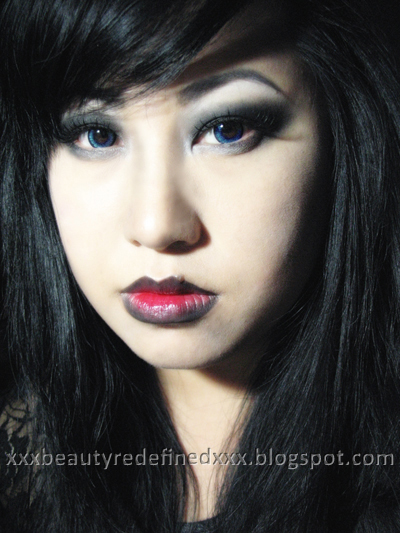 vampires makeup. a Vampire makeup look.