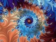 en la dimensión fractal áurea